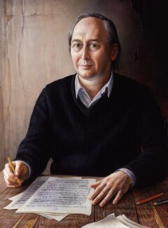 J.G. Ballard, by Brigid Marlin - NPG 6557
