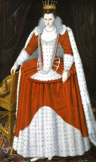 Possibly Lucy Russell (née Harington), Countess of Bedford, by Unknown artist - NPG 5688
