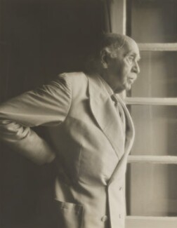 Sir Max Beerbohm, by Kay Bell Reynal, 1955 - NPG P202 - © reserved; collection National Portrait Gallery, London