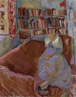 Vanessa Bell (née Stephen), by Duncan Grant, 1917 - NPG 5541 - © reserved; collection National Portrait Gallery, London