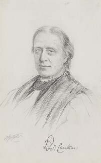 Edward White Benson, by Frederick Sargent - NPG 5600