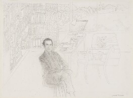 Nicolas Clerihew Bentley, by Leonard Rosoman, 1980 - NPG 5368 - © National Portrait Gallery, London