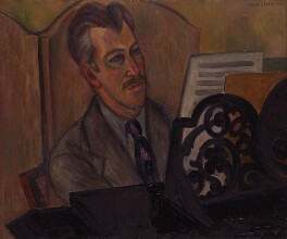 Sir Arthur Bliss, by Mark Gertler - NPG 5305