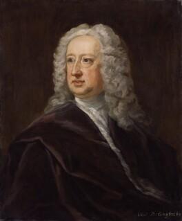 Henry St John, 1st Viscount Bolingbroke, by Jonathan Richardson - NPG 5598