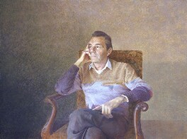 Sir Dirk Bogarde, by David Tindle - NPG 5891