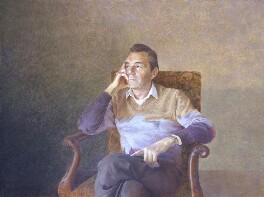 Sir Dirk Bogarde, by David Tindle, 1986 - NPG 5891 - © National Portrait Gallery, London