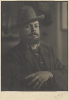 Sir Frank Brangwyn, by Emil Otto ('E.O.') Hoppé, 1909 - NPG P172 - © 2017 E.O. Hoppé Estate Collection / Curatorial Assistance Inc.