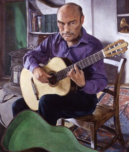 Julian Bream, by Michael Taylor - NPG 5747