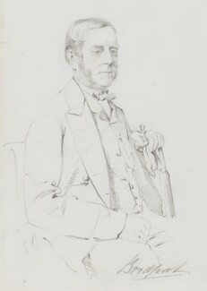 Alexander Nelson Hood, 1st Viscount Bridport, by Frederick Sargent - NPG 5626