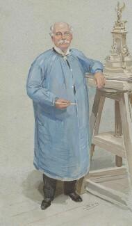 Sir Thomas Brock, by Sir Leslie Ward, 1905 -NPG 5393 - © National Portrait Gallery, London