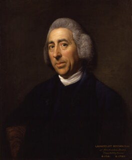 Capability Brown, by Nathaniel Dance (later Sir Nathaniel Holland, Bt), circa 1773 - NPG 6049 - © National Portrait Gallery, London