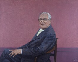 James Callaghan, by Bryan Organ, 1983 - NPG 5550 - © National Portrait Gallery, London