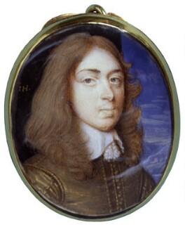 Henry Capel, Baron Capel of Tewkesbury, by John Hoskins, circa 1655 - NPG 5703 - © National Portrait Gallery, London