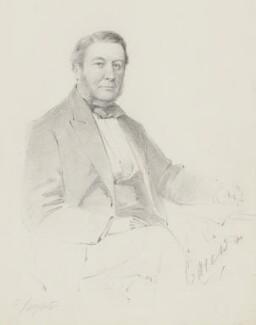 Robert Shapland, 2nd Baron Carew, by Frederick Sargent - NPG 5629