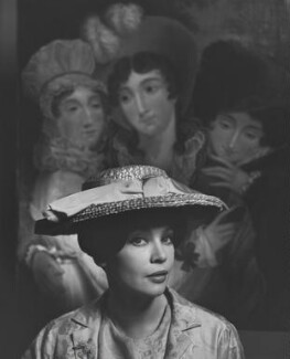 Leslie Caron, by Yousuf Karsh - NPG P242