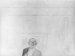 Edward Bawden, by Edward Bawden, 1986 - NPG 5929a - © National Portrait Gallery, London