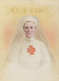 Edith Cavell, by Eleanor M. Ross, circa 1917 - NPG 5322 - © National Portrait Gallery, London