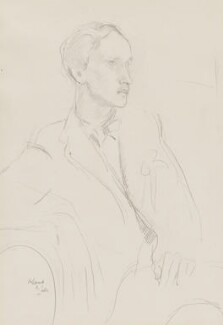 Lord David Cecil, by Henry Lamb - NPG 5556