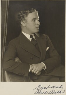 Charlie Chaplin, by Homer Peyton, 1929 - NPG P281 - © reserved; collection National Portrait Gallery, London