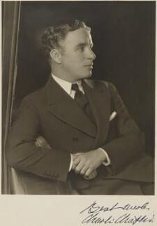 Charlie Chaplin, by Homer Peyton - NPG P281