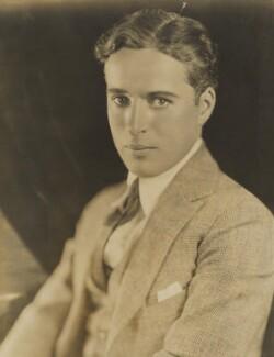 Charlie Chaplin, by Strauss-Peyton Studio, 1921 - NPG P283 - © National Portrait Gallery, London