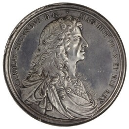 King Charles II, by John Roettier - NPG 6076
