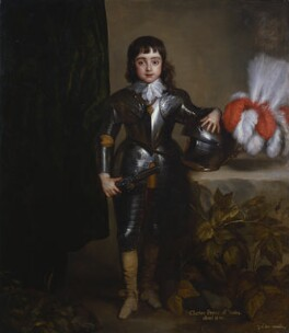 King Charles II, studio of Sir Anthony van Dyck, circa 1638 - NPG  - © National Portrait Gallery, London