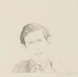 Prince Charles, by Bryan Organ - NPG 5420
