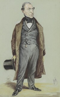 Frederick Thesiger, 1st Baron Chelmsford, by Alfred Thompson (Atn), published in Vanity Fair 5 February 1870 - NPG 5784 - © National Portrait Gallery, London