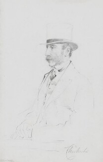 Henry Thomas Pelham, 3rd Earl of Chichester, by Frederick Sargent - NPG 5604