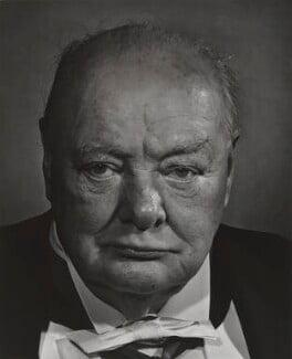 Winston Churchill, by Yousuf Karsh - NPG P244