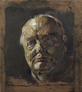 Winston Churchill, by Graham Vivian Sutherland, 1954 - NPG 5332 - © National Portrait Gallery, London