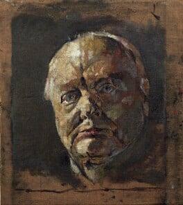 Winston Churchill, by Graham Vivian Sutherland, 1954 - NPG 5332 - © National Portrait Gallery, London