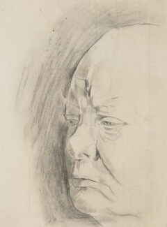 Winston Churchill, by Graham Sutherland - NPG 5333