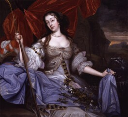 Barbara Palmer (née Villiers), Duchess of Cleveland, by John Michael Wright, circa 1670 - NPG  - © National Portrait Gallery, London