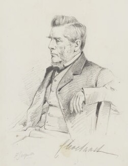 Harry George Powlett (né Vane), 4th Duke of Cleveland, by Frederick Sargent - NPG 5635