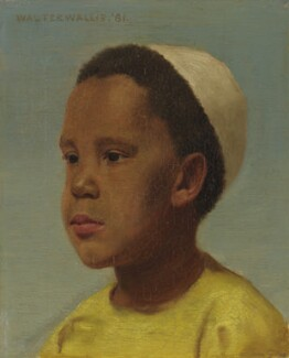 Samuel Coleridge-Taylor, by Walter Wallis, 1881 - NPG  - © National Portrait Gallery, London