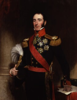 Sir John Conroy, 1st Bt, by Henry William Pickersgill - NPG 5315