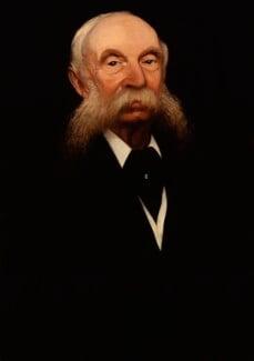 Sir James Crichton-Browne, by Gluck - NPG 5791