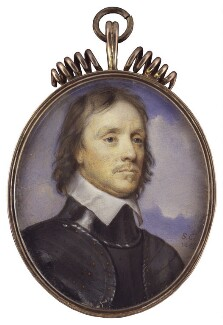 Oliver Cromwell, by Samuel Cooper, 1649 - NPG 5589 - © National Portrait Gallery, London