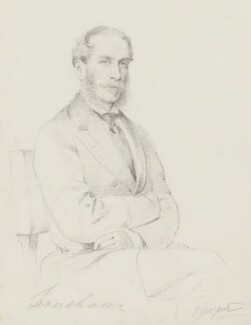 William Heneage Legge, 6th Earl of Dartmouth, by Frederick Sargent - NPG 5638