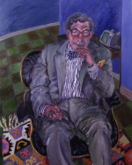Sir Robin Day, by Rosemary Beaton - NPG 5750