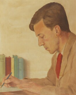 Cecil Day-Lewis, by Frank Ernest Halliday, 1936 - NPG 6588 - © National Portrait Gallery, London