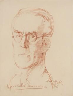 Harold Dearden, by Ivan Opffer - NPG 5454