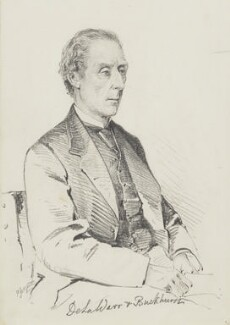 Reginald Windsor Sackville, 7th Earl de la Warr, by Frederick Sargent - NPG 5640