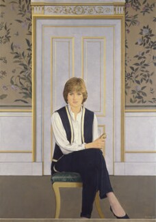 Diana, Princess of Wales, by Bryan Organ - NPG 5408