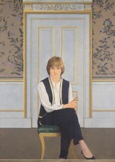 Diana, Princess of Wales, by Bryan Organ, 1981 - NPG 5408 - © National Portrait Gallery, London