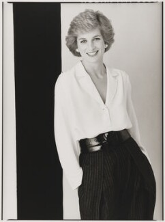Diana, Princess of Wales, by David Bailey - NPG P397