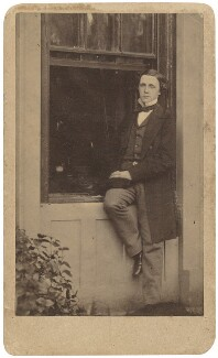 Lewis Carroll, by Lewis Carroll - NPG P237