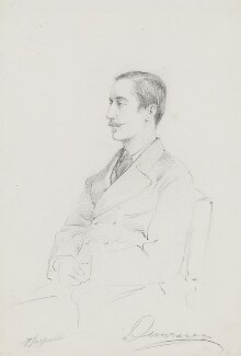 Windham Thomas Wyndham-Quin, 4th Earl of Dunraven and Mount-Earl, by Frederick Sargent - NPG 5605